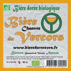 Bière du Vercors bio Chanvre