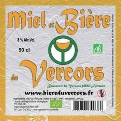 Bière du Vercors bio Miel