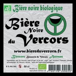 Bière du Vercors bio Noire