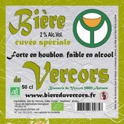 Bière du Vercors bio Spéciale Houblon