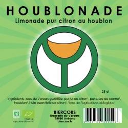 HOUBLONADE : La Limonade bio pur citron au Houblon
