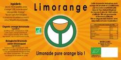 LIMORANGE : Limonade bio pure orange