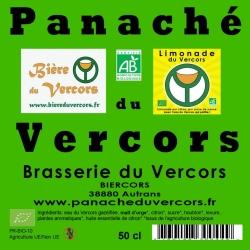 Panaché bio artisanal du Vercors