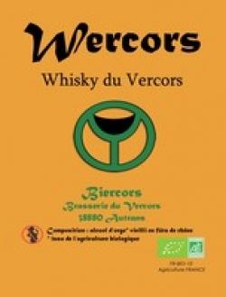Le Whisky du Vercors bio : WERCORS